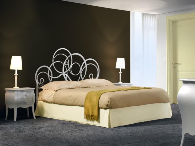Mobilificio boldini omegna verbania - Camera da letto con letto in ferro battuto ...